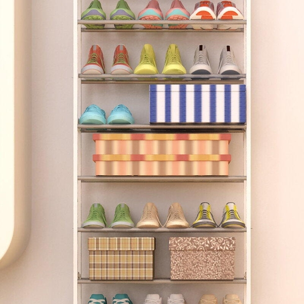 【GK365】第三代(加厚超穩固型)10層鞋架/DIY組裝鞋/十層鞋架 EZGO商城