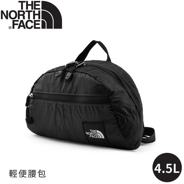 【The North Face 4.5L 腰包《黑格紋》】3KZ5/側背包/隨身包/小包/休閒包/出國/健行