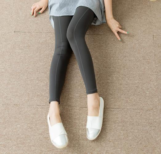內搭褲   拼接高彈性純棉瑜珈內搭褲   二色原單-CALLING