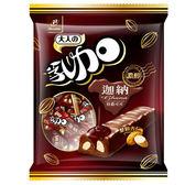 J-黑巧杏仁迷你乳加 147g【愛買】
