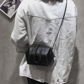 女包鏈條包包女新款潮港風復古斜挎包/米蘭世家