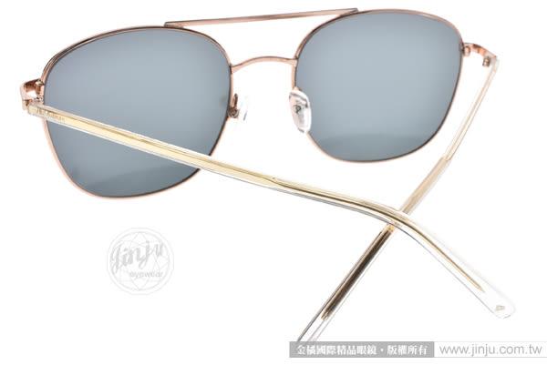 PAUL HUEMAN 太陽眼鏡 PHS882D 01 (玫瑰金-粉水銀) 經典飛官水銀鏡面款 # 金橘眼鏡