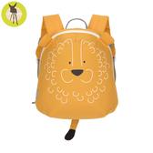 【新品上市送收納盒】德國Lassig-兒童動物造型後背包-獅子