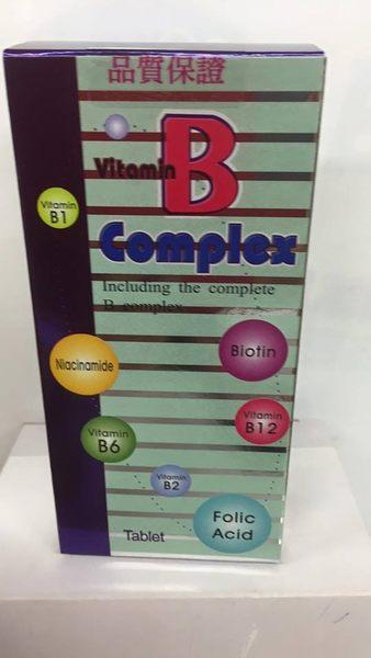 活樂B 維他命B群錠狀食品 60錠(盒)*6盒