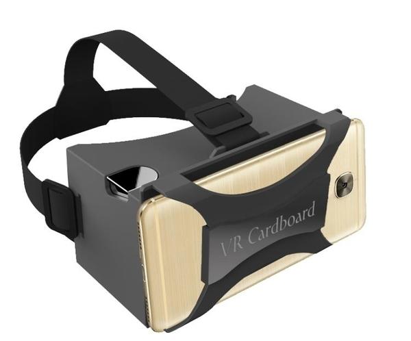 VR眼鏡 谷歌google Cardboard 2代VR眼鏡虛擬現實手機專用頭戴式D 免運 交換禮物