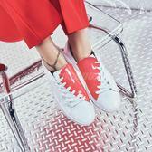 Puma 休閒鞋 Basket Crush Wns 白 紅 情人節 低筒 亮皮鞋面 運動鞋 女鞋【PUMP306】 36955601