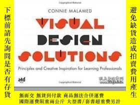 二手書博民逛書店Visual罕見Design Solutions: Principles And Creative Inspira