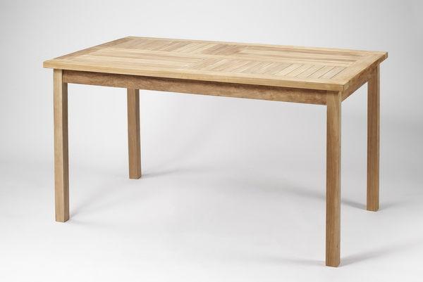【南洋風休閒傢俱】戶外餐桌椅系列-140公分柚木長方餐桌  實木餐桌   戶外餐桌 (#140T)