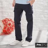 【JEEP】美式休閒工作長褲 (深藍)