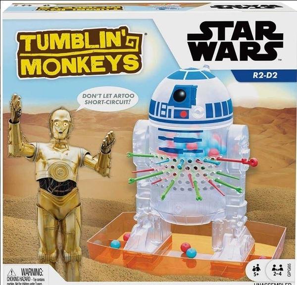 『高雄龐奇桌遊』 星際大戰版 跳跳猴大挑戰 Tumblin Monkeys Star Wars 正版桌上遊戲專賣店