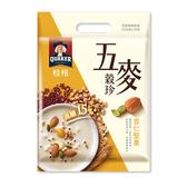 桂格五麥穀珍杏仁堅果25Gx10【愛買】