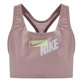 NIKE 運動內衣 SWOOSH BRA 粉 寬肩帶 中度支撐 一片式胸墊 訓練 女 (布魯克林) CZ4444-630