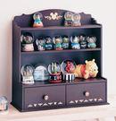 日本迪士尼米奇木製收納盒抽屜收納櫃桌上型...