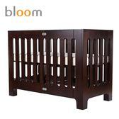 美國 Bloom alma papa 可折疊嬰兒床(中床)~卡布奇諾(附床墊床單)