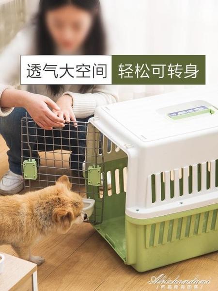 寵物航空箱托運箱愛麗絲貓狗車載便攜手提籠子外出狗狗用品 黛尼時尚精品
