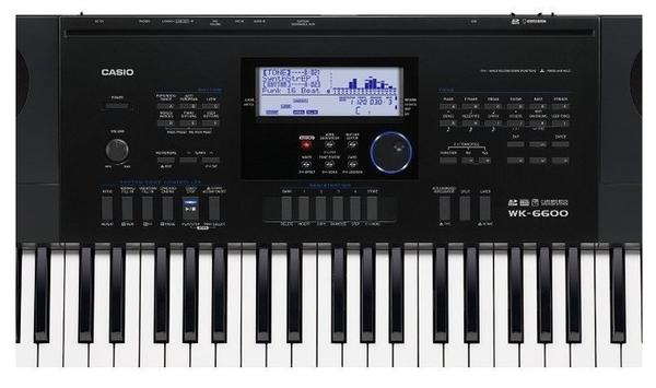 唐尼樂器︵ CASIO 卡西歐 WK-6600 76鍵電子琴(全新高階琴款,附琴袋超值配件現場教學)