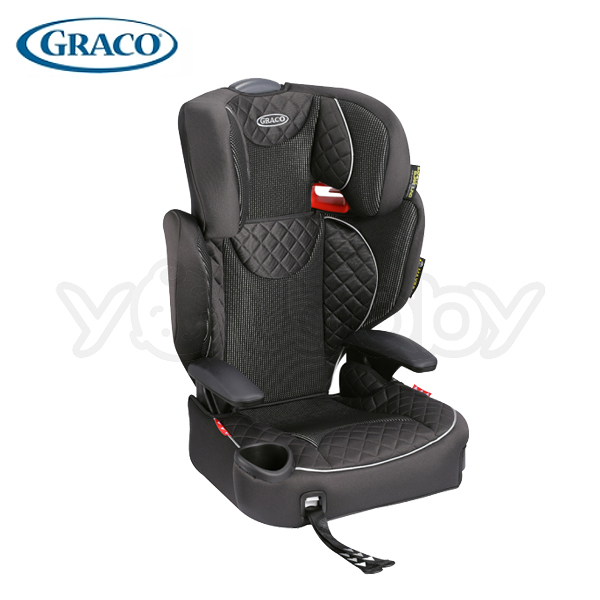 GRACO 幼兒成長型輔助汽車安全座椅/汽座 AFFIX (黑桃國王)