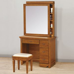 【YFS】利弗德化妝桌-94.5x49.5x183cm(送椅)