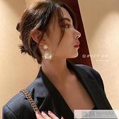 高級感耳環法式網紅珍珠歐美夸張耳墜女韓國氣質耳飾2020年新款潮 牛轉好運到