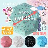 自動傘 開合碳纖維抗UV變色晴雨傘 120公分(5色任選)【KB10001】i-Style居家生活百貨