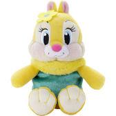 Hamee 日本 迪士尼 Beans Collection 豆豆絨毛娃娃 掌上型玩偶 (克莉絲) TA24696