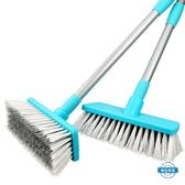 洗刷工具長柄地板刷子 浴室清潔刷廚房地磚刷衛生間洗地刷瓷磚硬毛掃水刷 wy全館限時88折