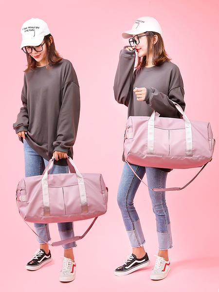 運動背包 旅行包包女 短途 行李包 運動干濕分離健身包 手提袋輕便大容量【快速出貨】