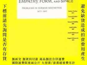 二手書博民逛書店Empathy,罕見Form, And SpaceY307751 Robert Vischer; Conrad