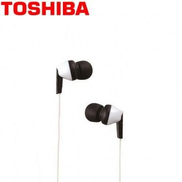 TOSHIBA東芝 高音質耳塞式耳機(RZE-D40-W)白色