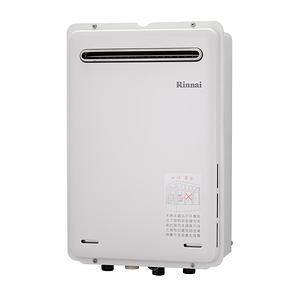 林內 強制排氣熱水器 屋外型 24L REU-A2426W-TR LPG/RF式 液化瓦斯