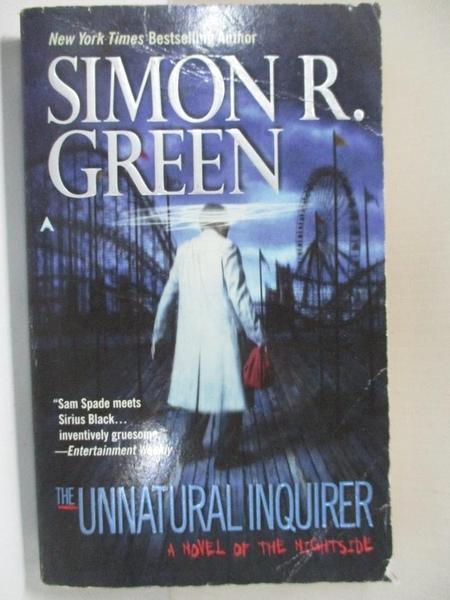 【書寶二手書T7/原文小說_HSG】The Unnatural Inquirer_Green, Simon R.
