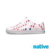 native 小童鞋 JEFFERSON 小奶油頭鞋-貝殼白x小星星