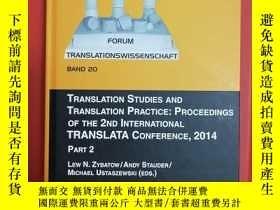 二手書博民逛書店Translation罕見Studies and Transla
