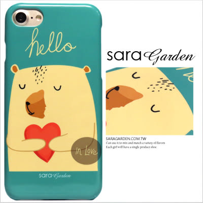 iPhone 7 Plus 客製化 手機殼 保護殼 愛心熊熊