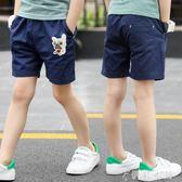 兒童短褲外穿夏裝新款夏季童裝男童純棉五分褲子中大童薄款褲 伊鞋本鋪