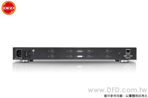 (預購) ATEN VM6404H 4x4 4K HDMI 矩陣式影音切換器 搭載升頻器功能 公司貨
