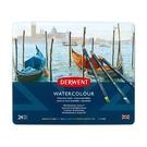 Derwent 達爾文 watercolor aquatone 水溶性24C色鉛筆*0700304