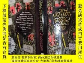 二手書博民逛書店the罕見mysterious benedict society 神秘的本篤會Y200392