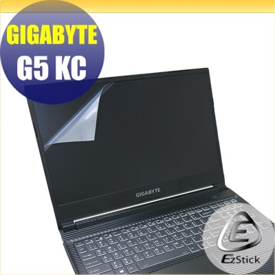 【Ezstick】GIGABYTE G5 KC 靜電式筆電LCD液晶螢幕貼 (可選鏡面或霧面)