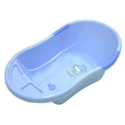 【奇買親子購物網】酷咕鴨 KU.KU. 可愛雙色浴盆(藍色/粉色)