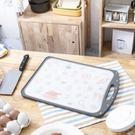 料理食光升級雙面防霉不鏽鋼砧板