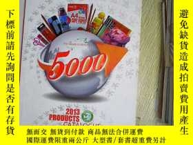 二手書博民逛書店HELLO罕見PARTUER 2013 PRODUGTS CATALOGUE ,Y203004