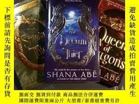二手書博民逛書店(3冊合售)平裝小說The罕見Dream Thief + The