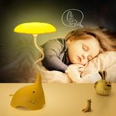 小夜燈插電小夜燈觸摸臺燈臥室床頭創意暖光寶寶嬰兒喂奶 曼莎時尚