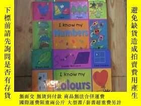二手書博民逛書店I罕見Know My:Colours and Shapes+Nu