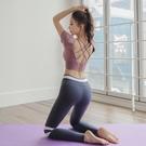 瑜珈服 抖音同款瑜伽服運動套裝女顯瘦氣質仙氣網紅ins款瑜珈健身服夏天 16【618特惠】