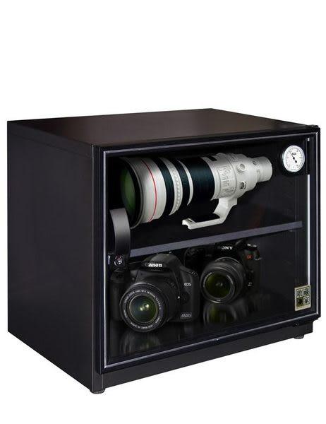 收藏家 80公升電子防潮箱 AW-80 長鏡頭保管最佳推薦機種(長度50cm以內)