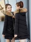 羽絨外套 冬季外套2020新款棉衣女中長款韓版寬鬆棉襖加厚百搭連帽羽絨棉服 曼慕