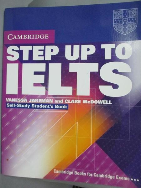 【書寶二手書T6/語言學習_XBJ】Step Up to IELTS Self-study Student's Book