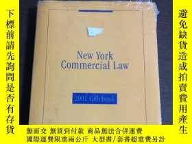 二手書博民逛書店New罕見York Commercial Law (2001 G